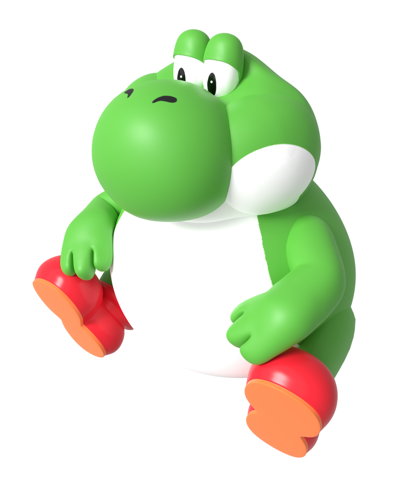 Big chungus clipart fat yoshi. Render by nintega dario