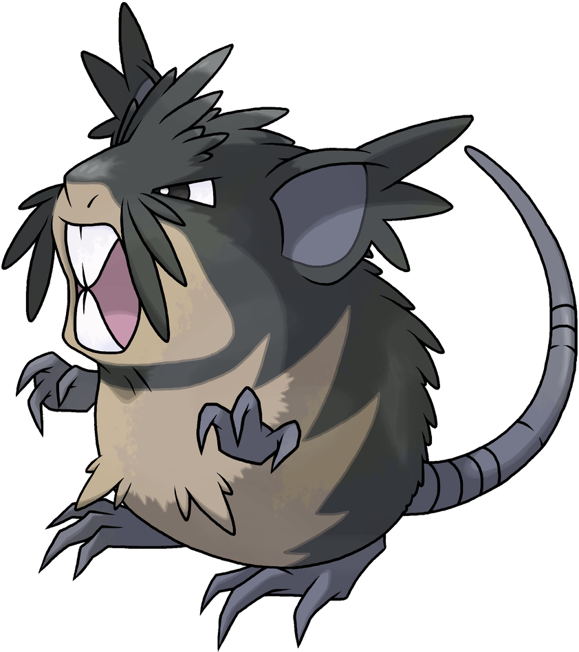 Big chungus clipart thick. Mega monday raticate and
