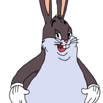 Big chungus clipart t posing. Petition ps ea donald