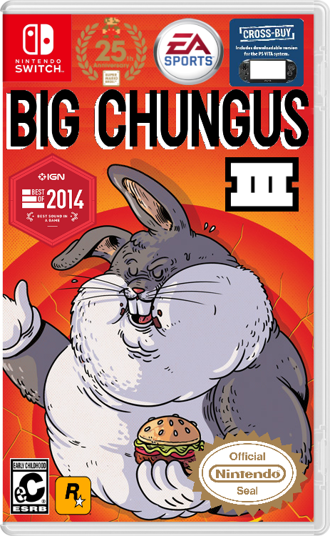Big chungus png origin. What is going on