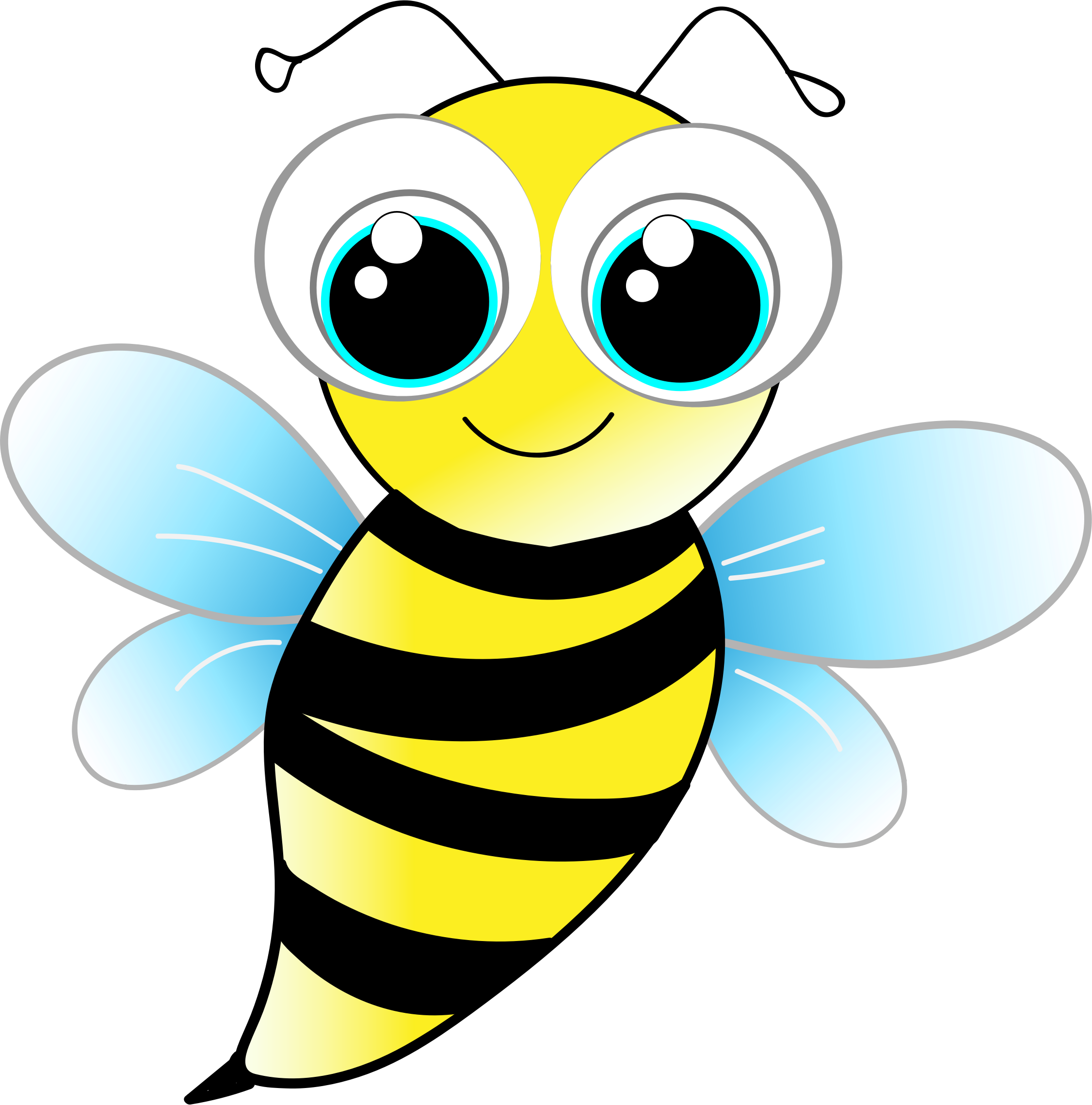 Big clipart friendly. Bee image png