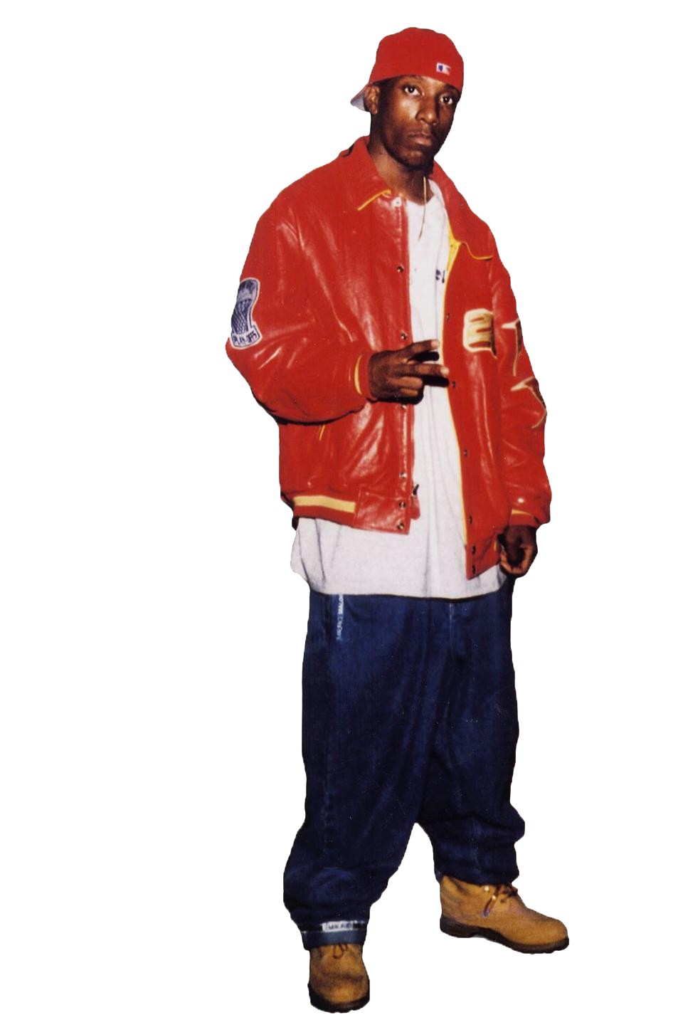 2pac transparent leather overalls