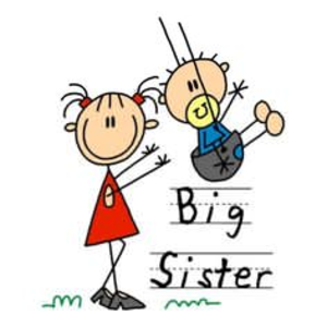 Big sister. Little brother clipart free