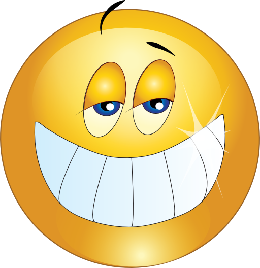 Big smile png. Smiley emoticon clipart i