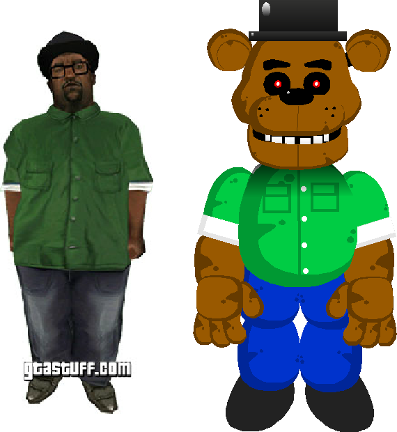 Big smoke png. Freddy album on imgur