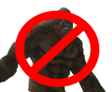 The deniers crypto crew. Bigfoot field png svg free library