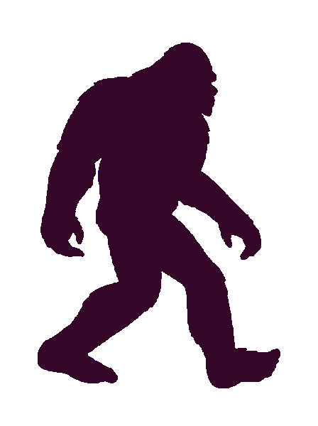 Bigfoot png. Vector images shared by