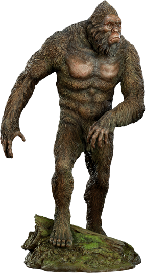 Bigfoot png images. Statue by sideshow collectibles