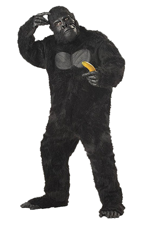 Bigfoot png transparent. The best costumes on