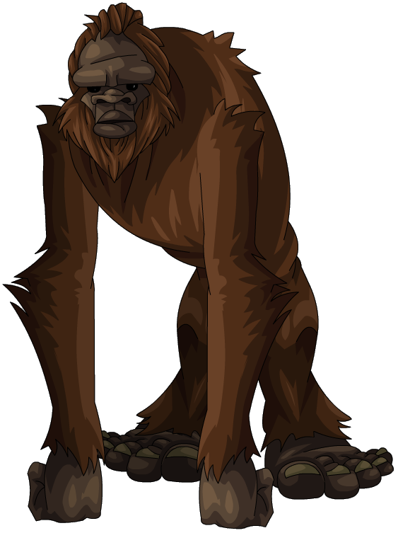 bigfoot png transparent