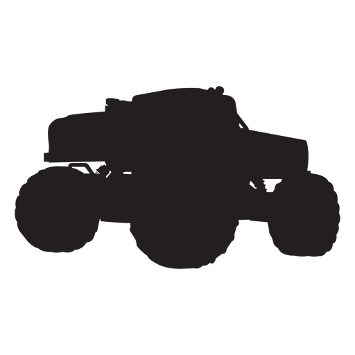 Bigfoot svg silhouette. Monster truck transparent png