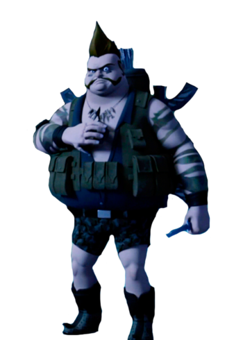 Bigfoot transparent tmnt 2012. The finger wiki fandom