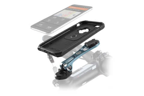Bike clip phone. Mounts for iphone and