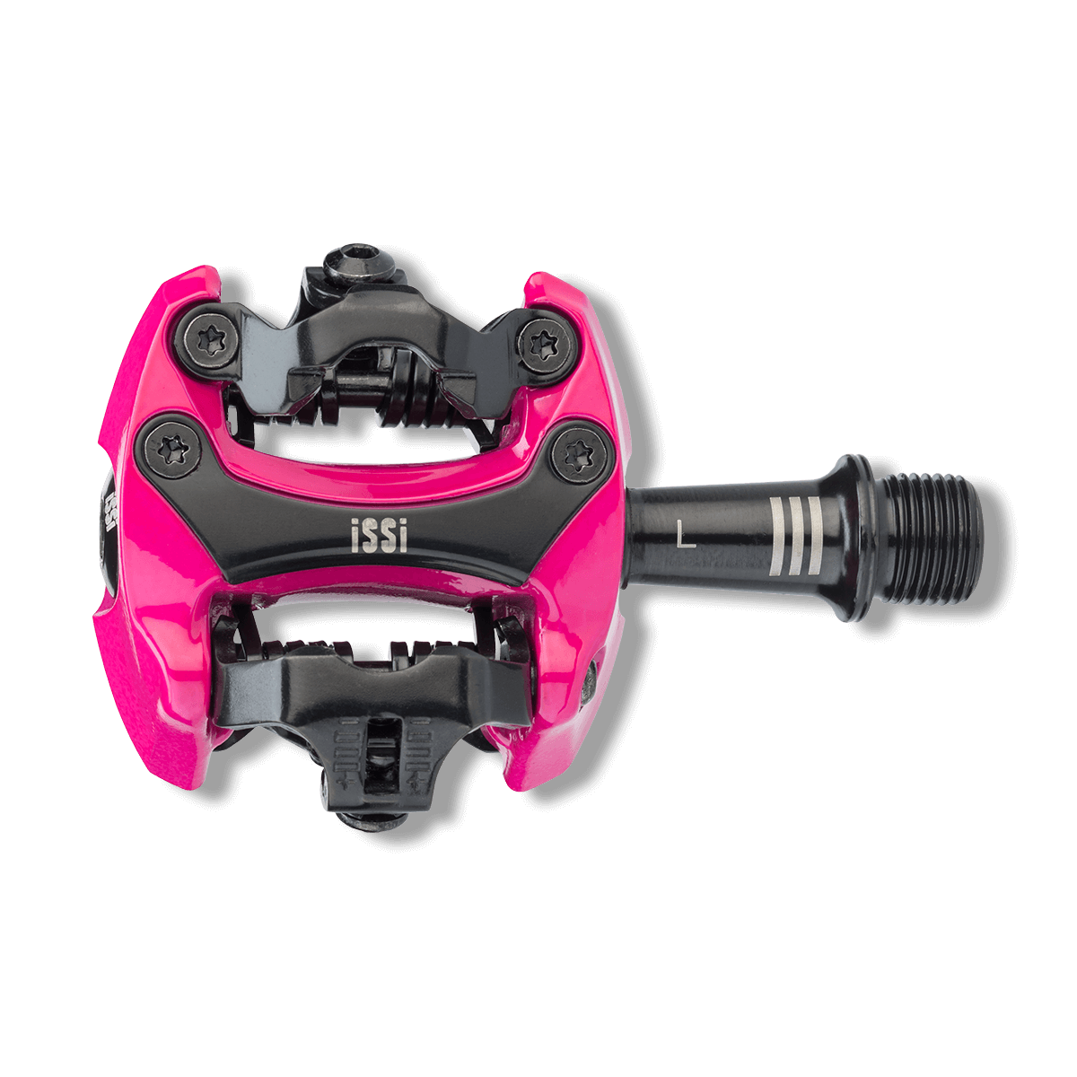 Bike clip spd. Colored clipless pedals issi