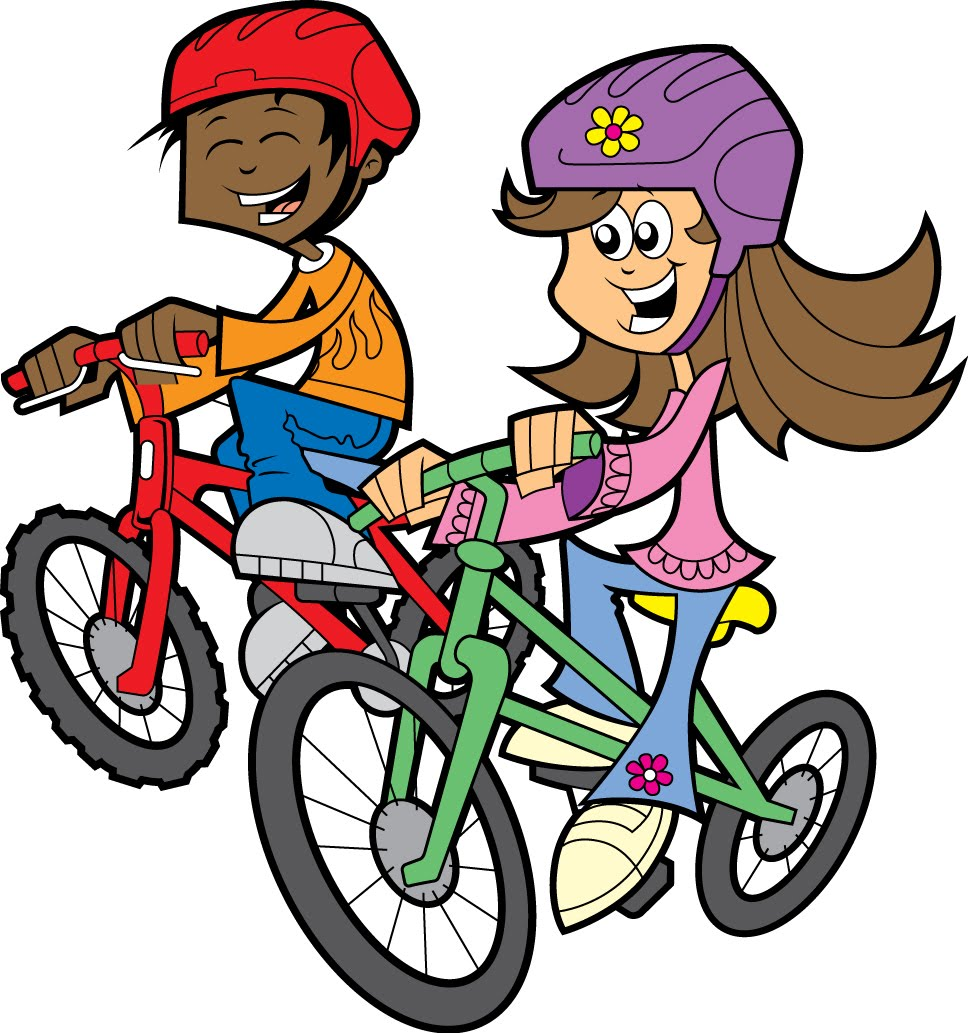 Bicycle cartoon for kids. Cycle clipart toddler bike graphic freeuse download