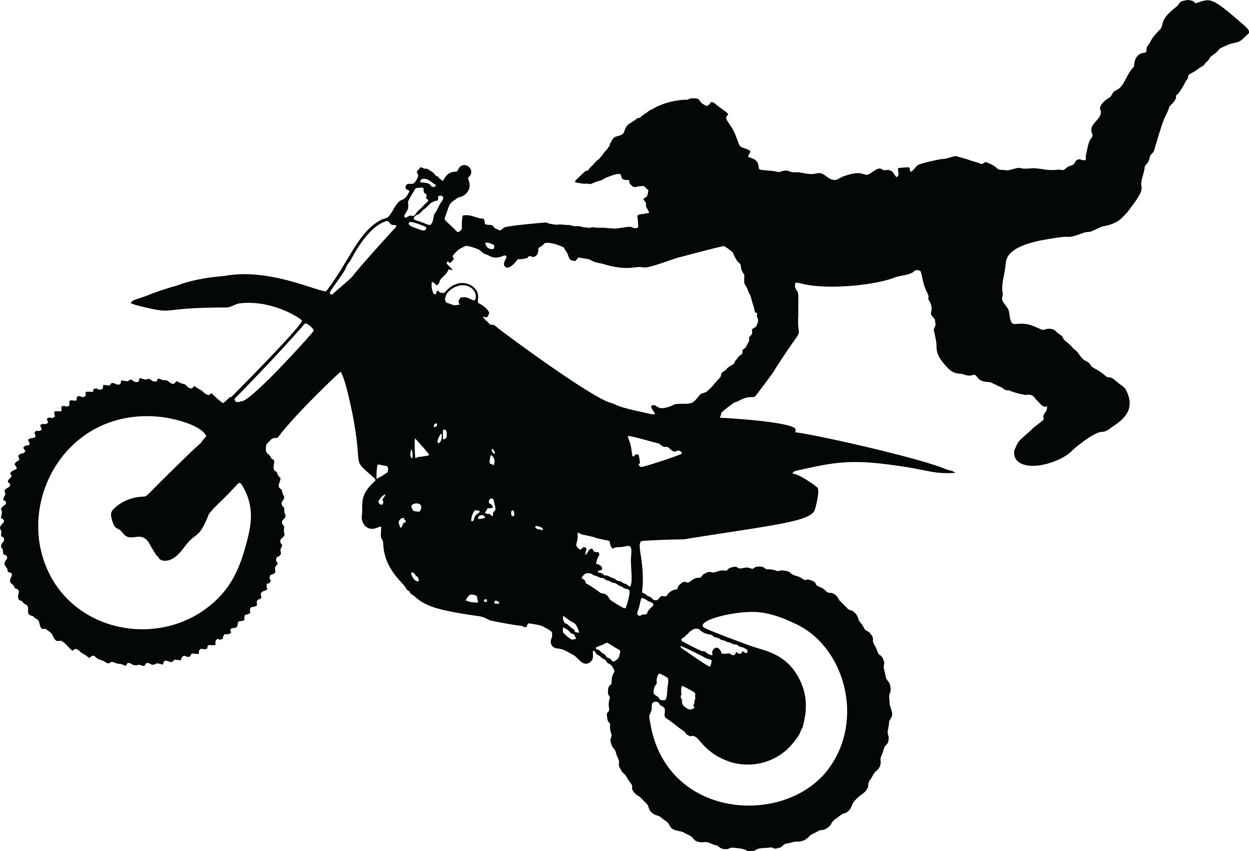 Dirt bike png free. Transparent motorcycle man picture transparent library