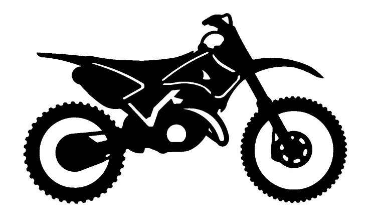 bike clipart motocross bike