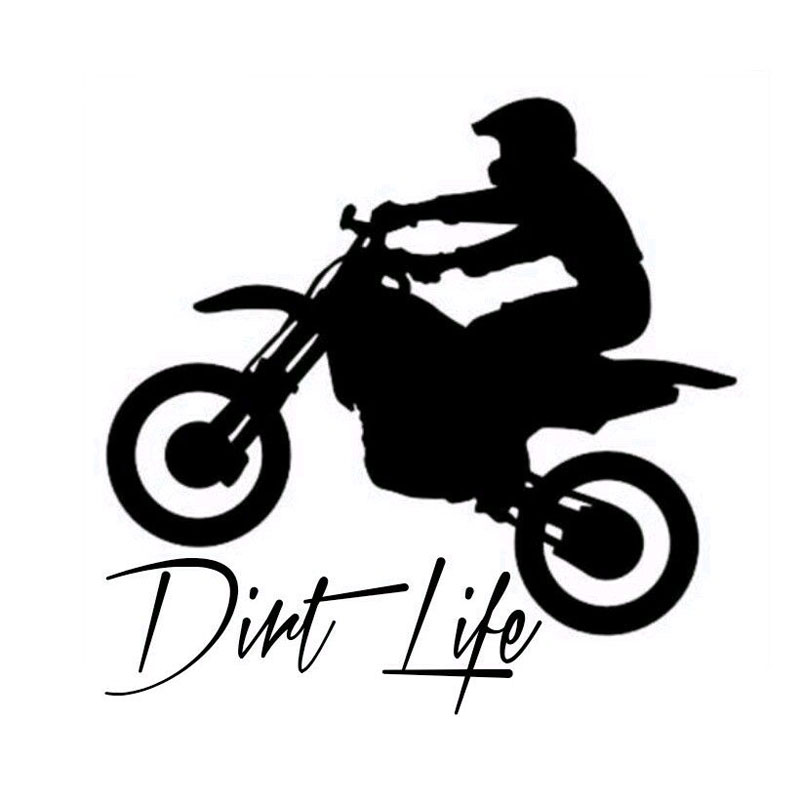 Buy stickers dirt and. Bike clipart motocross bike png library stock