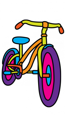 Biking clipart easy bike. Bicycle drawing at getdrawings