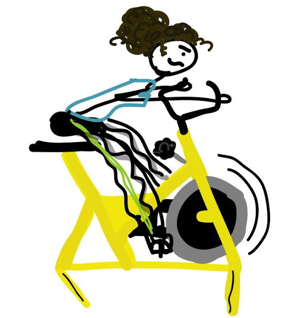 Biking clipart spinning bike. Why pedal furiously on