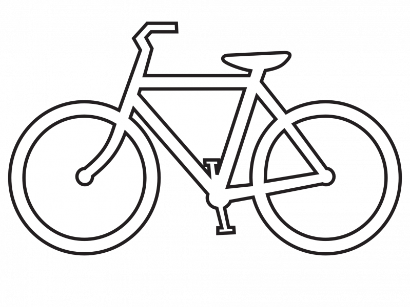 test drawing bicycle