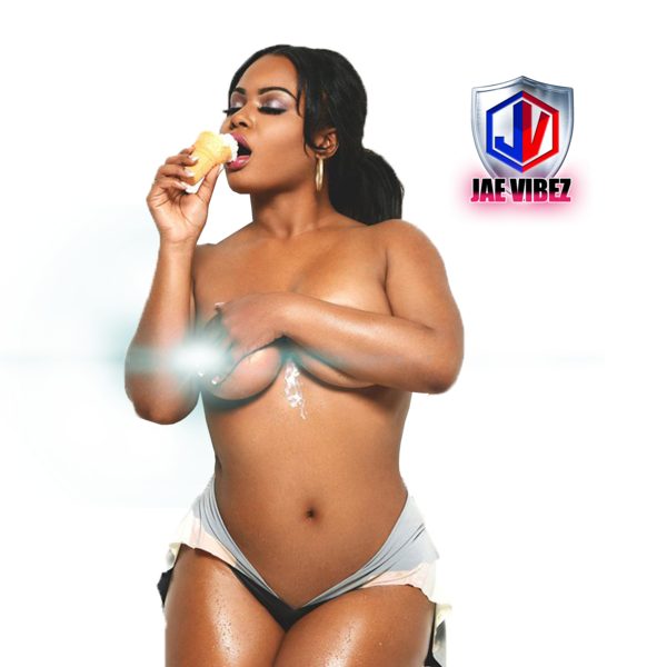 Bikini girl png. With ice cream official