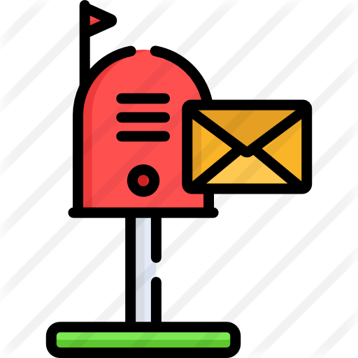 Bill clipart mailbox. Free interface icons icon
