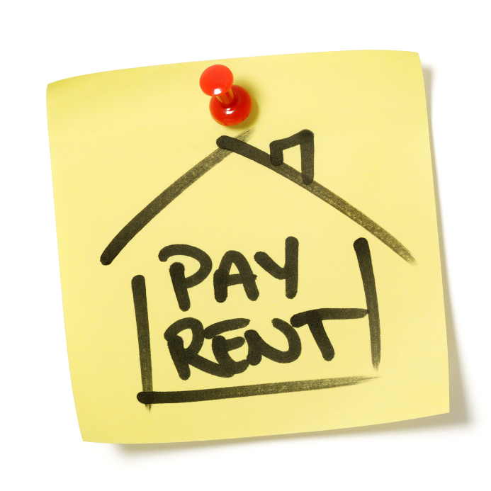 bill clipart rent payment