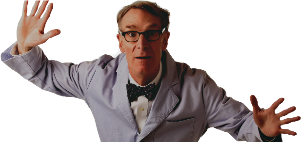 Bill nye the science guy png. Download excited image with