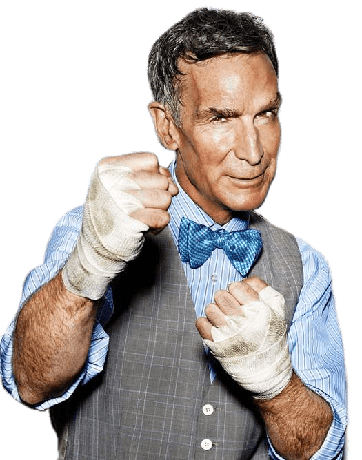 Bill nye the science guy png. Boxing moves transparent stickpng