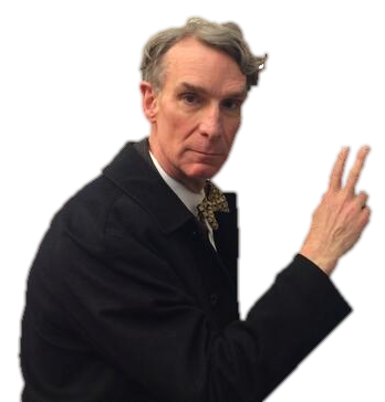 Bill nye the science guy png. Reasons why is