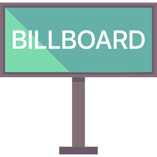 Billboard transparent png. Announcement advertisement buildings advertising