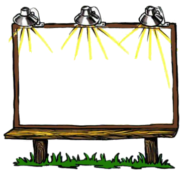 Billboard transparent png. Blank blanks html download