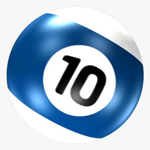 Billiards clipart 10 ball. On the th png