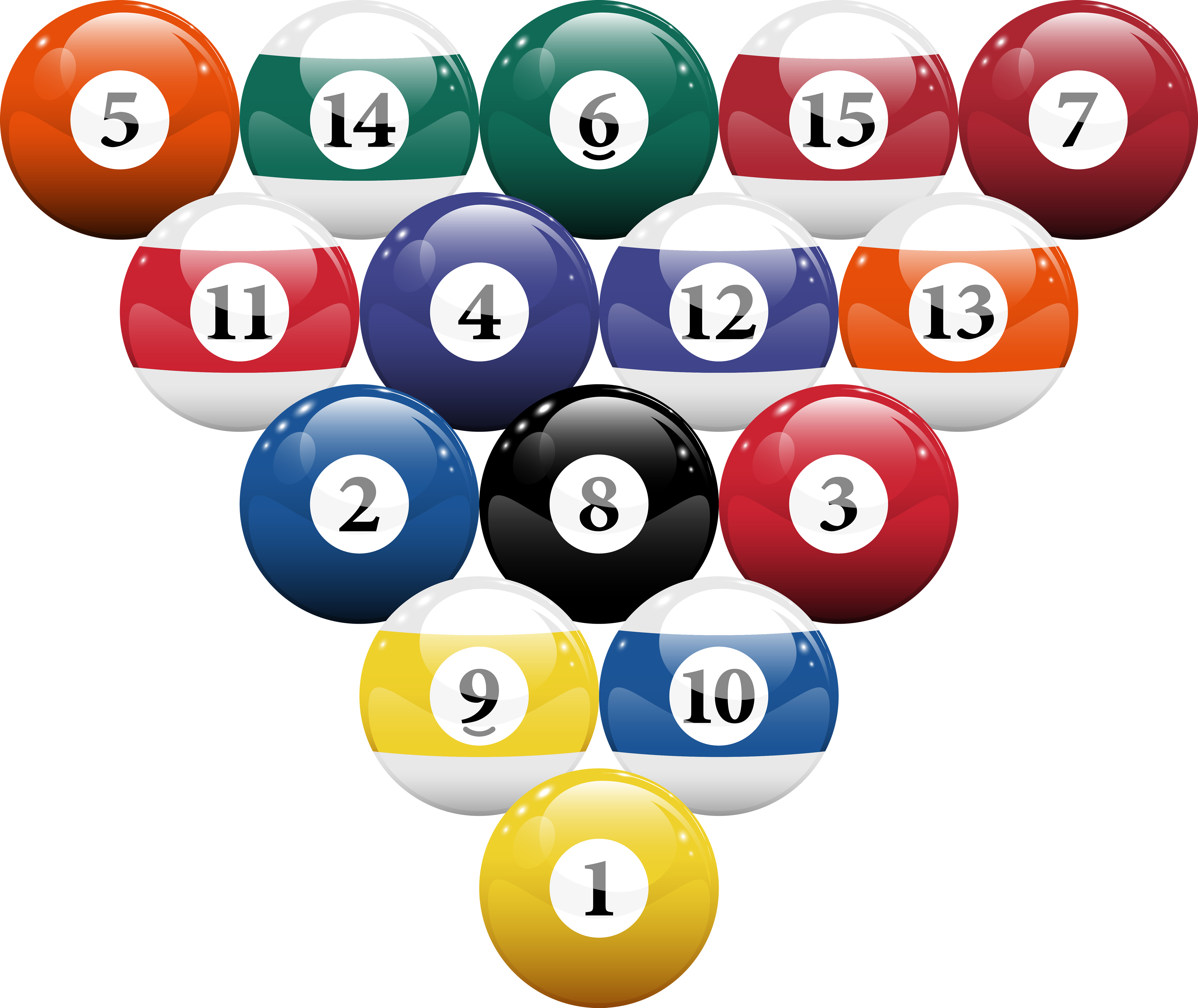 Ball clip swimming. Billiard png images free