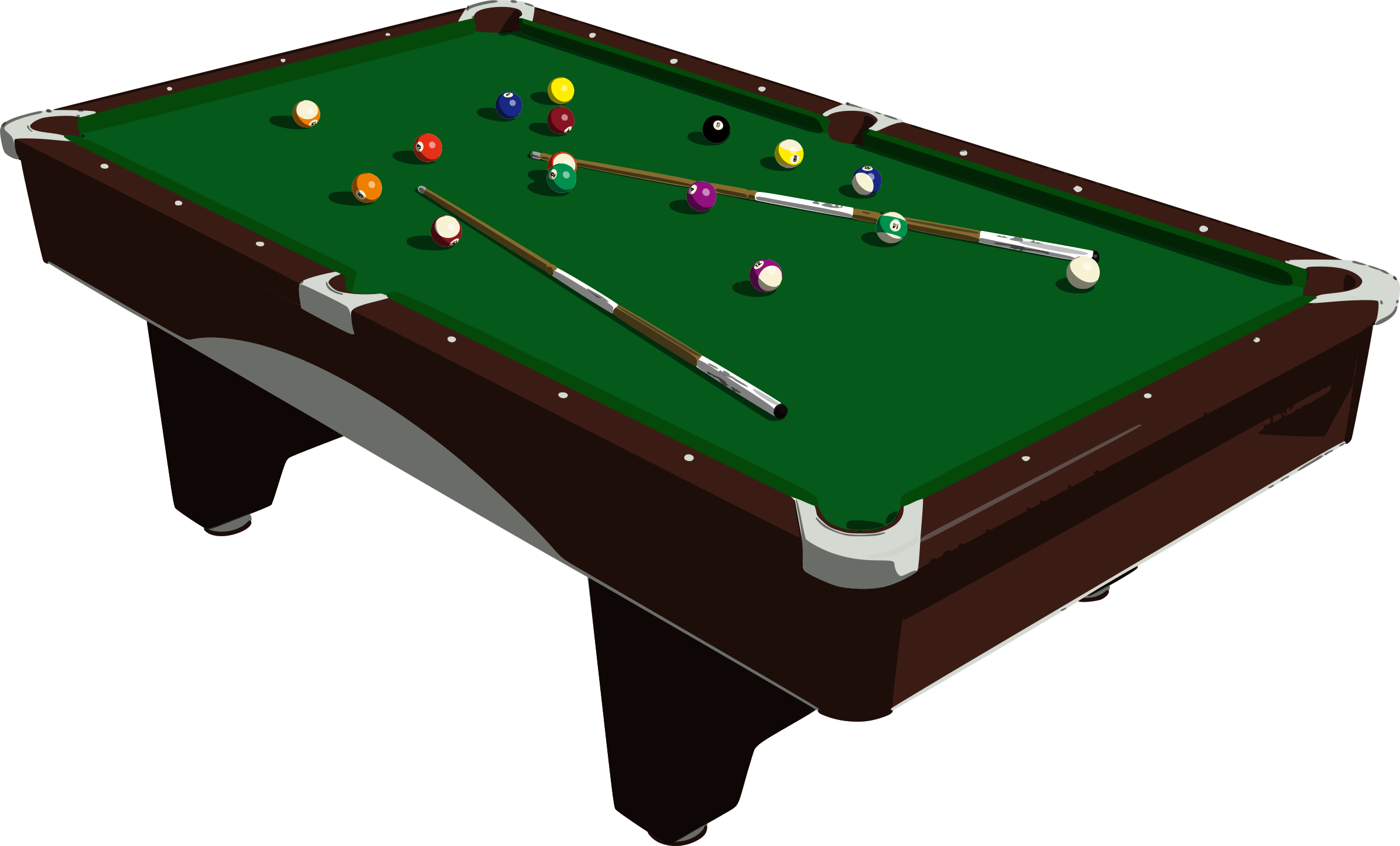 People playing pool png. Clipart table big image