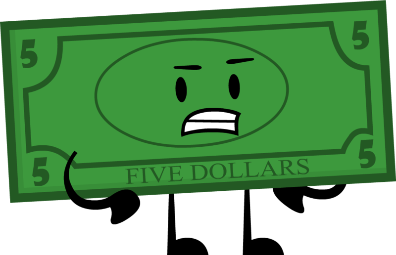 5 dollar bill png. Image pose cool insanity