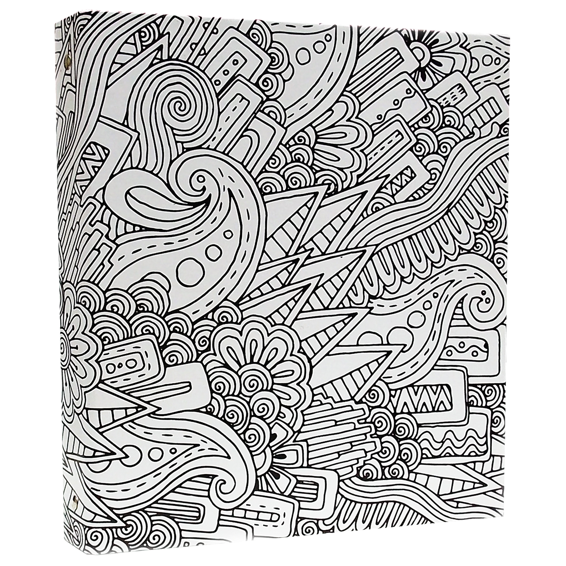 Arts drawing abstract. Illustrator coloring binder in