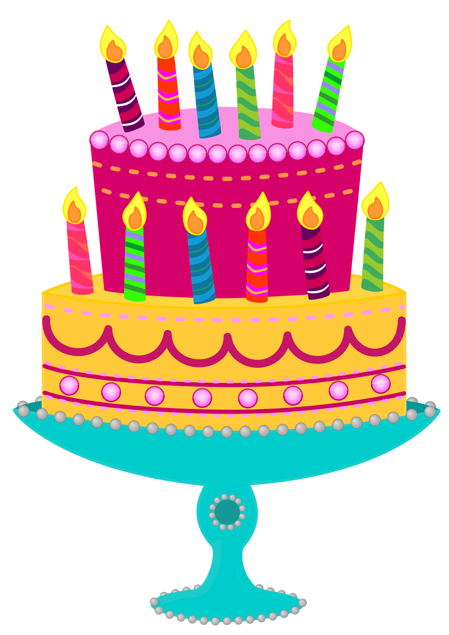 Birthday cake clipart png. Free picture of cakes