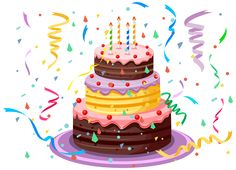 Bing clipart birthday cake. Pin by ceyda on
