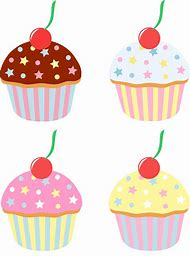 Bing clipart cupcake. Best ideas about border