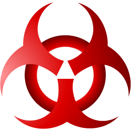 Symbol png images all. Biohazard transparent red clip black and white download