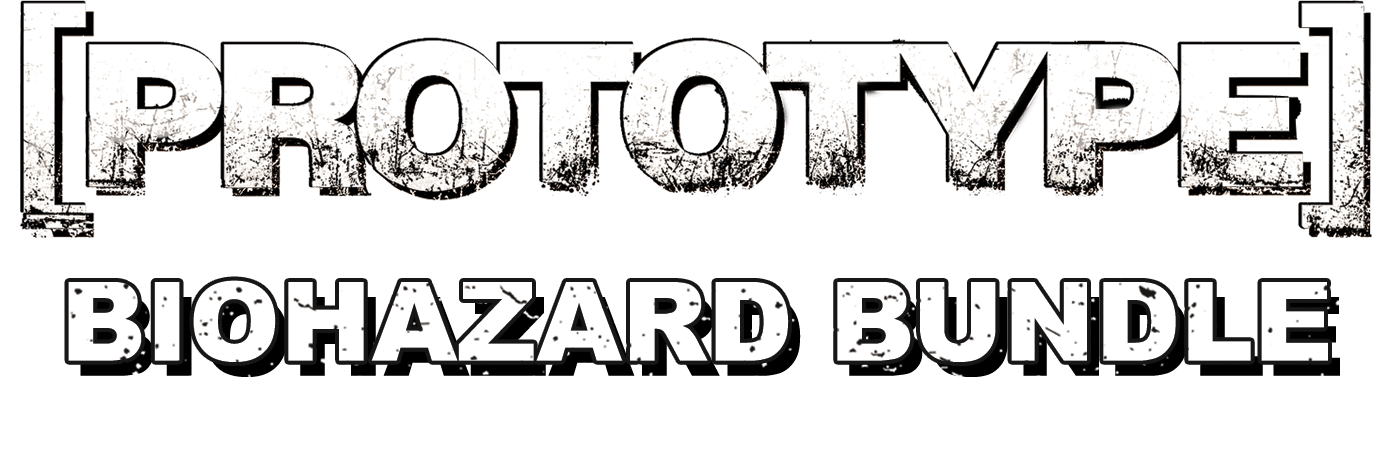 Prototype bundle. Biohazard transparent text png transparent