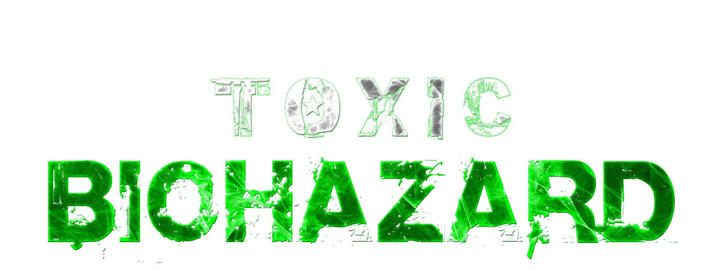 First edition limited x. Biohazard transparent toxic svg