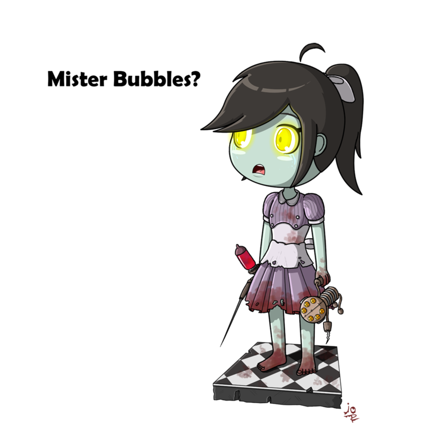 Little sister by jotheweirdo. Bioshock drawing clipart black and white stock