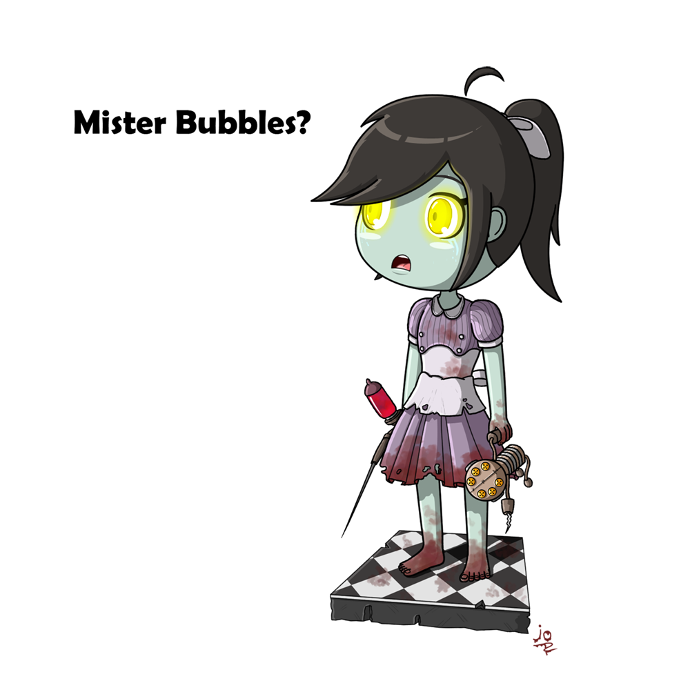Little sister by jotheweirdo. Bioshock drawing easy picture library download