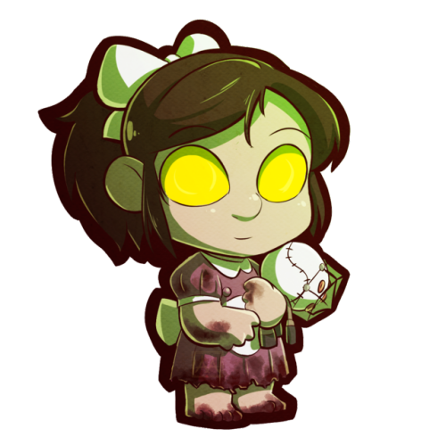 Bioshock drawing little sister. From tumblr next up