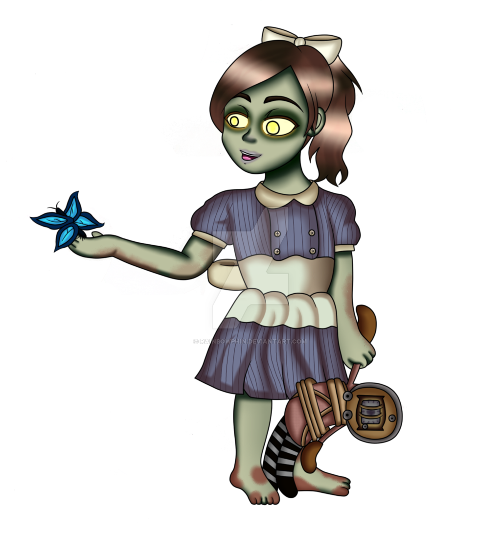 Bioshock drawing sister location. Little png version by