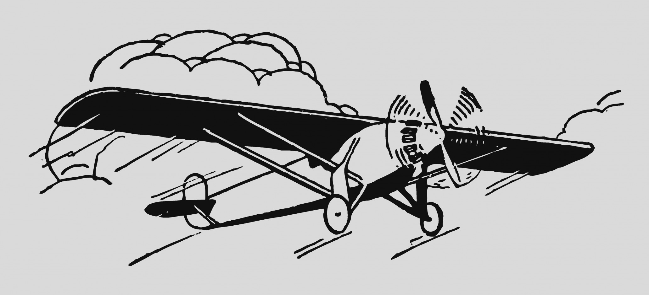Biplane clipart old fashioned. Collection of plane clip