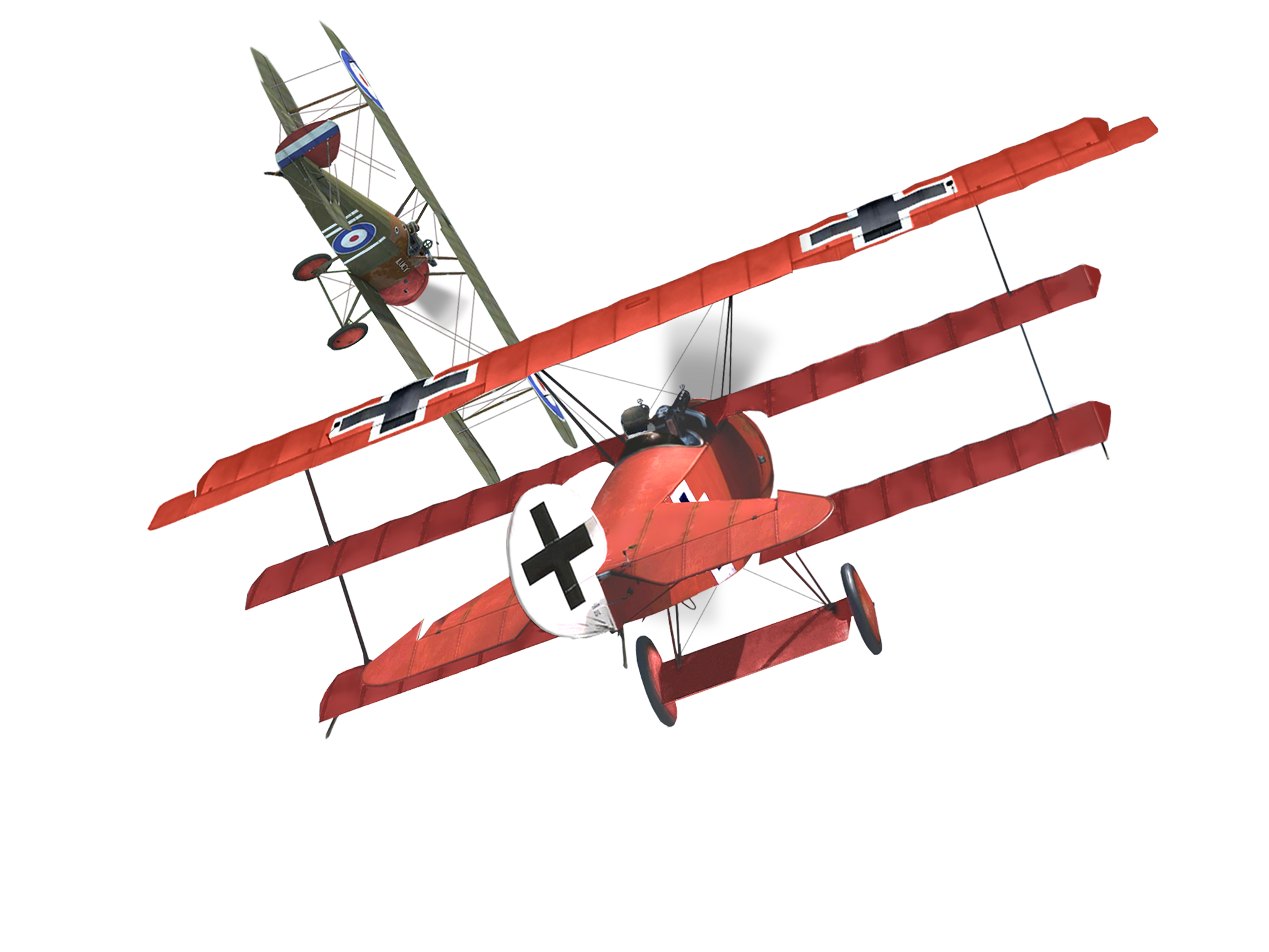 Biplane clipart stunt plane. The red baron manfred